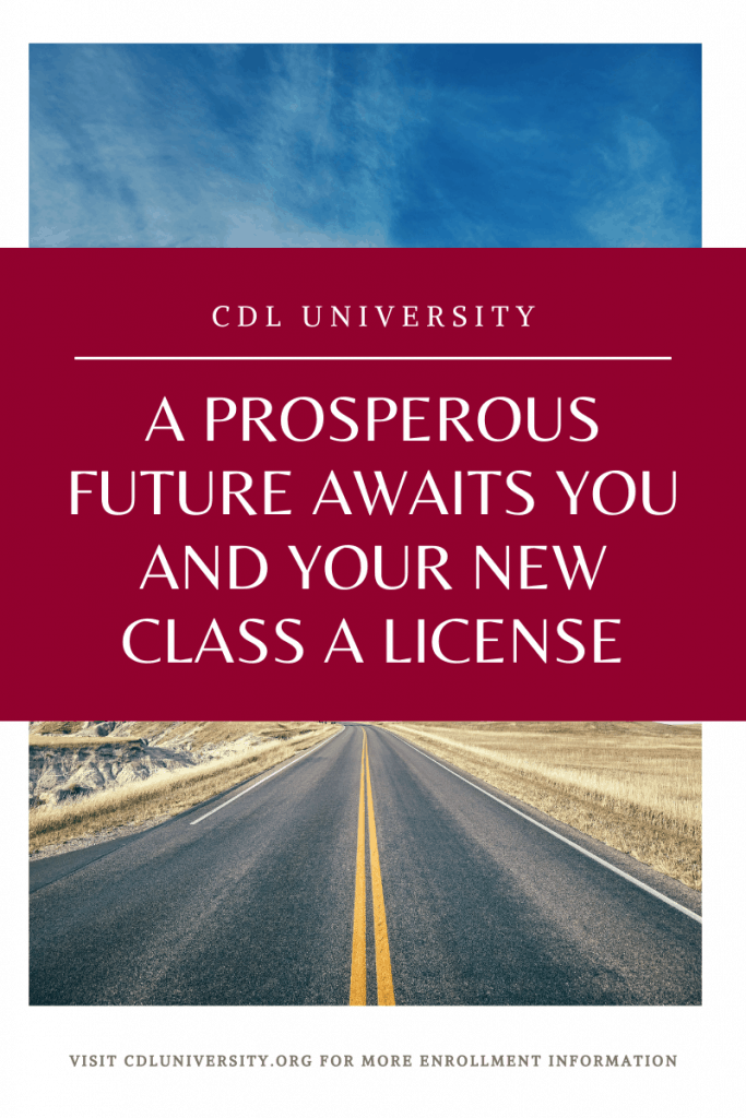 class a license blog graphic