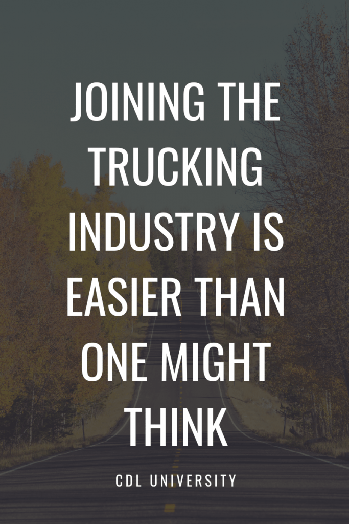 trucking industry blog graphic