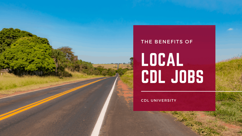 local cdl jobs with local road