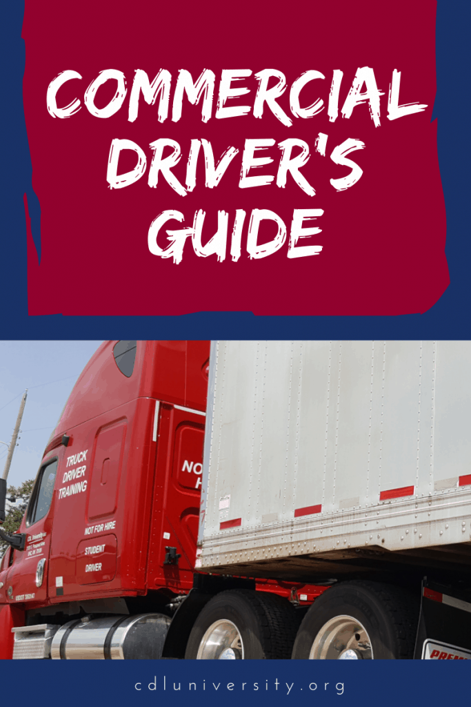 Commercial driver's guide to success